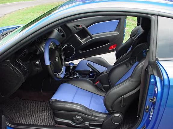 tiburon tuscani black and blue interior custom hyundai hyundai tiburon tiburon tuscani black and blue interior