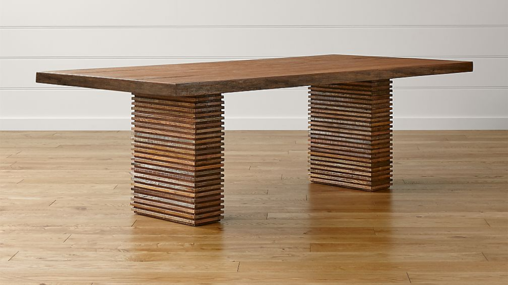 Paloma Ii Reclaimed Wood Dining Table Wood Dining Table