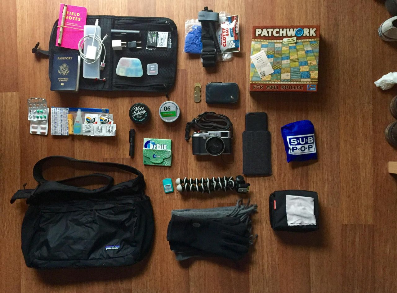 Epic #EDC — 30/M/American traveling in Germany...