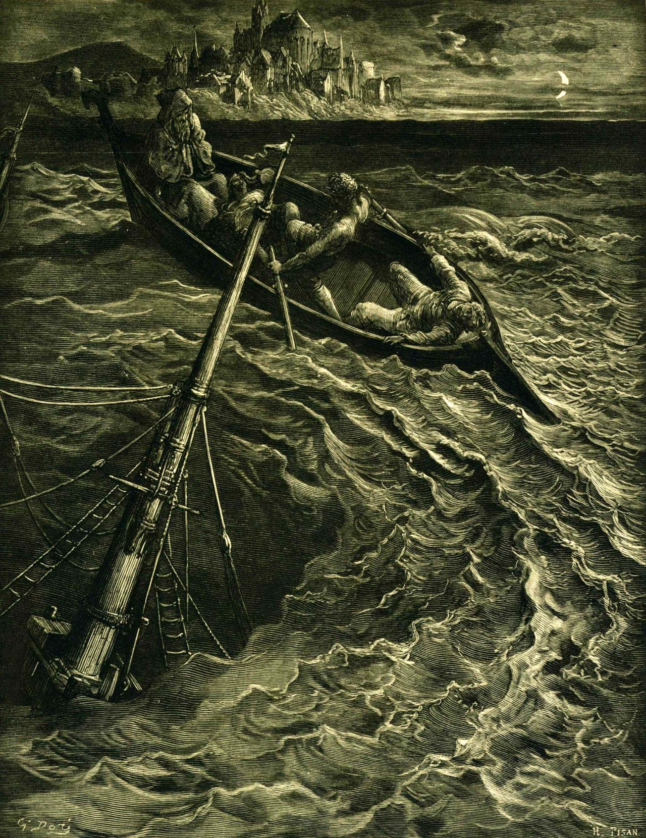 dor atilde gustave the rime of the ancient mariner by doratilde137 gustave 1832 1883 the rime of the ancient mariner by samuel
