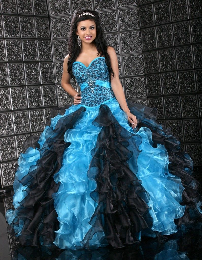 Quinceanera fashion animal print quince quinceaneradresses quinceanera fashion animal print quince quinceaneradresses sweet16 turquoise wedding dressesturquoise ombrellifo Image collections