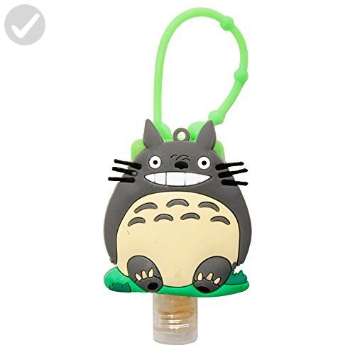 DIYJewelryDepot My Neighbor Totoro Sanitizer Case Cover Assorted Color + Hand Gel Disinfectant - Fun stuff and gift ideas (*Amazon Partner-Link)