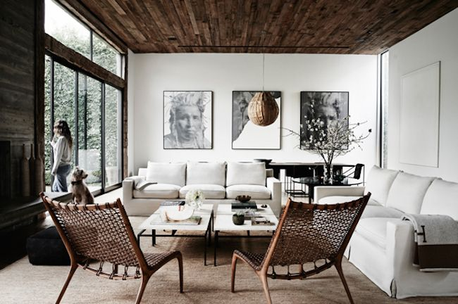 Moody living room perfection