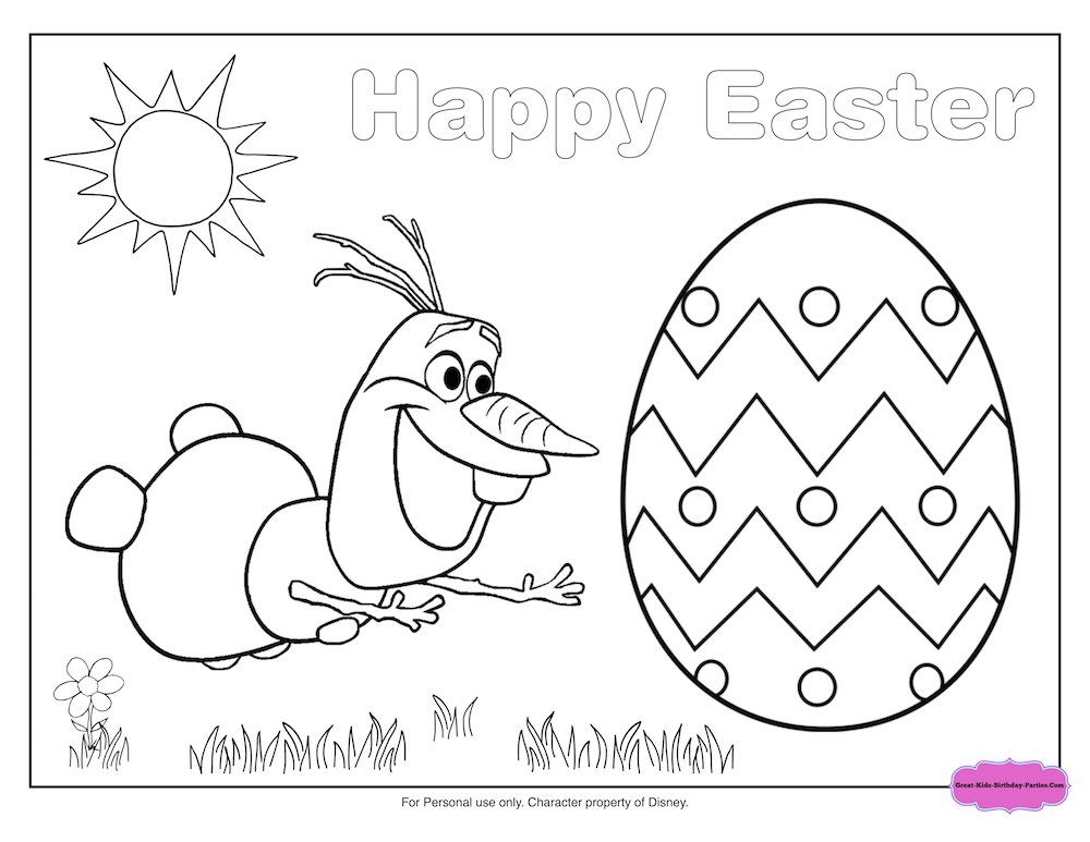 Fun Easter Printables For Kids