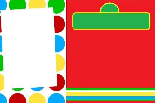 Blank Sesame Street Invitation Party Ideas
