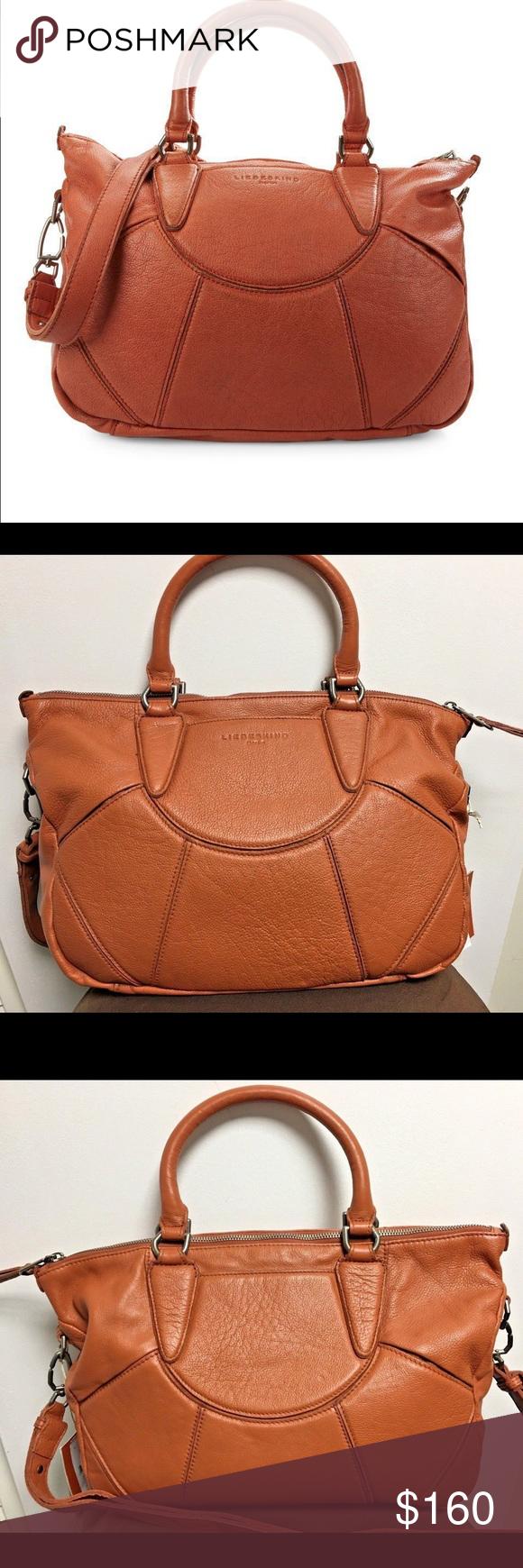 New Liebeskind Berlin Esther Vintage Satchel Bag 100 Authentic