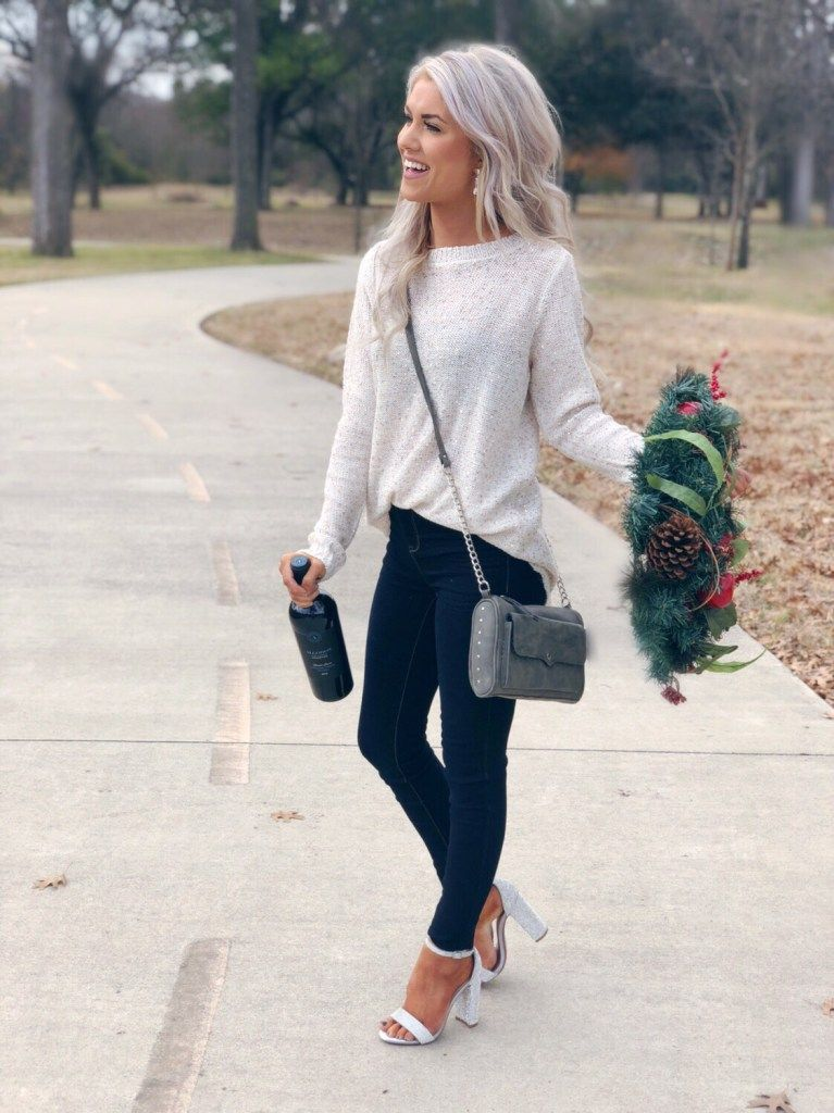 Casual Holiday Style With Walmart – Living My Best Style #datenightoutfit