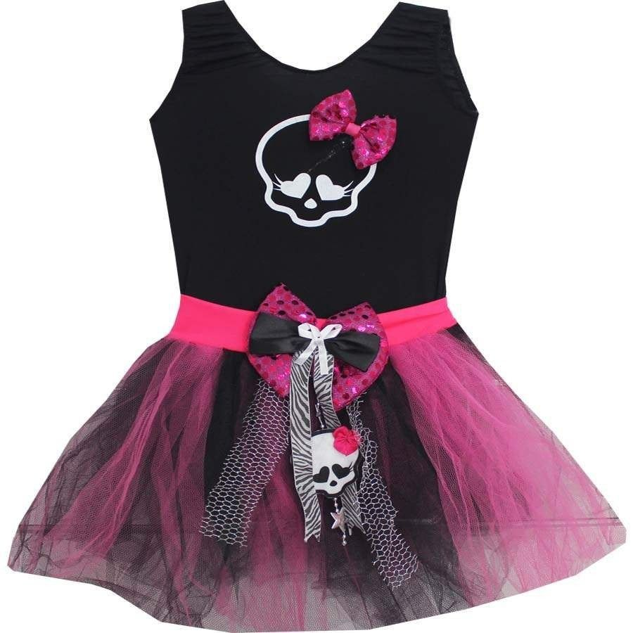 afddff828 Vestido Disfraz Monster High Draculaura -   350