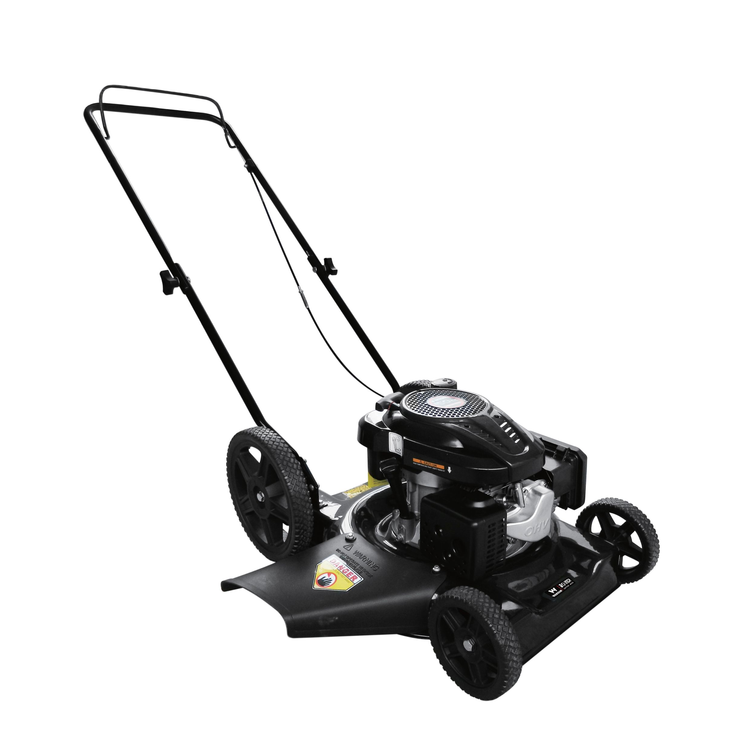 Warrior Tools Black Gas Powered 21 inch Push Lawn Mower