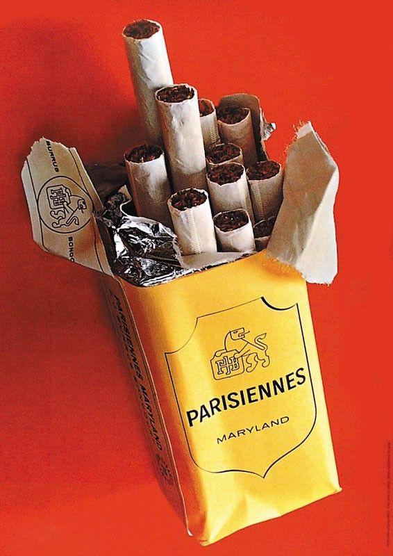 cigarettes Parisiennes - 1972 - (Lintas Werbeagentur) -