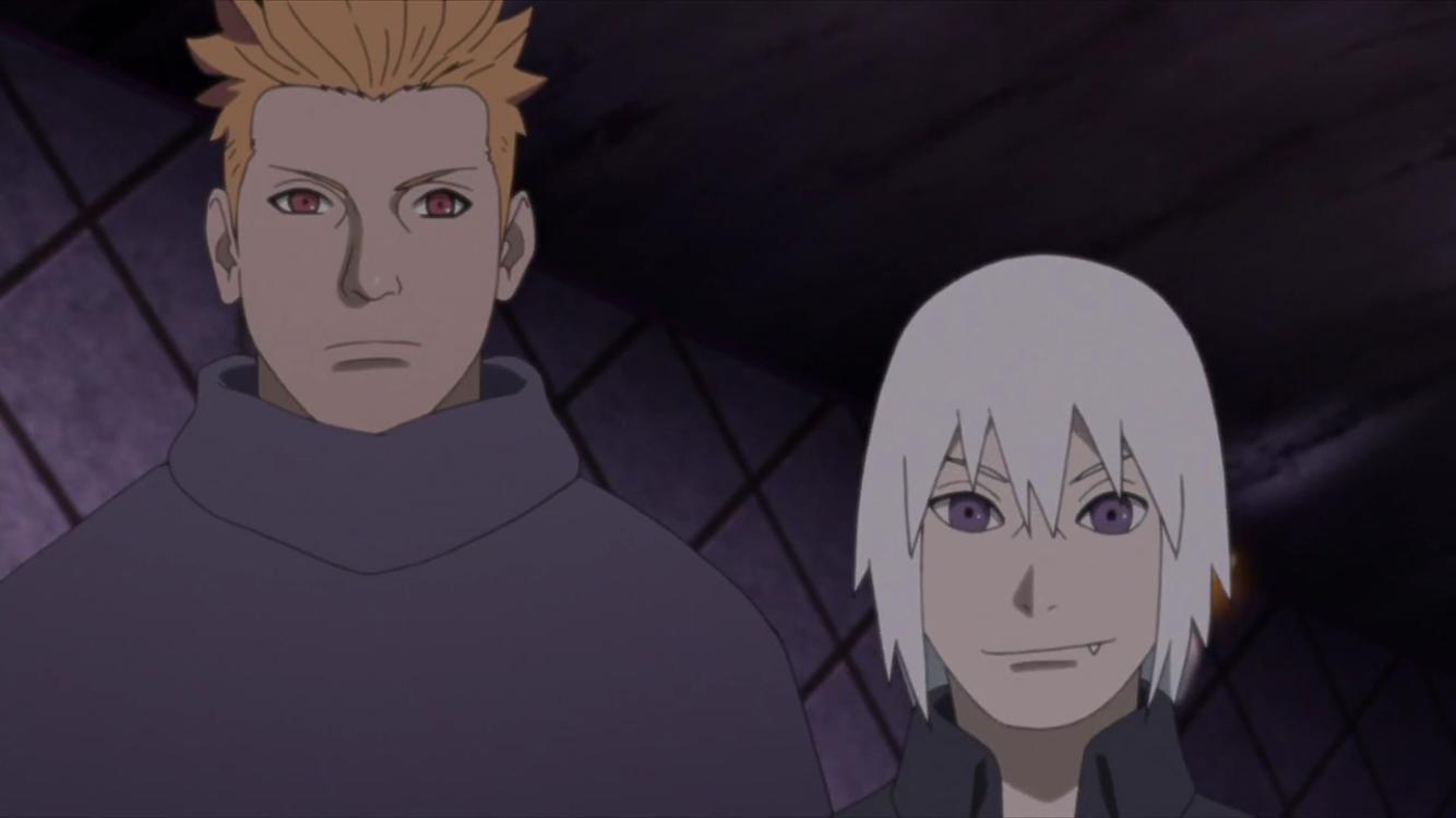 Jugo And Suigetsu Boruto Naruto Next Generations Boruto