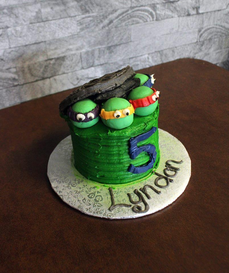Teenage Mutant Ninja Turtles Birthday Cake Created By Cupcasions In