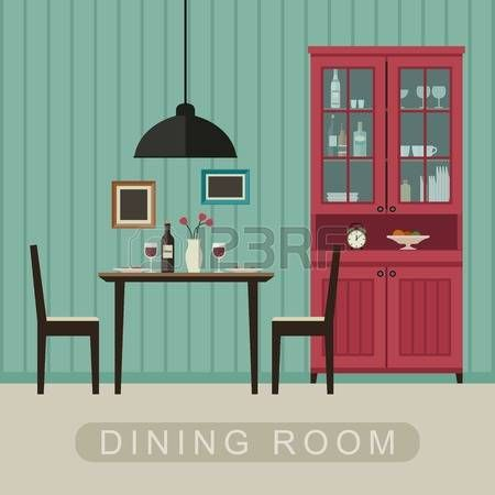 Image Result For Cartoon Dining Room Cash On Delivery Background