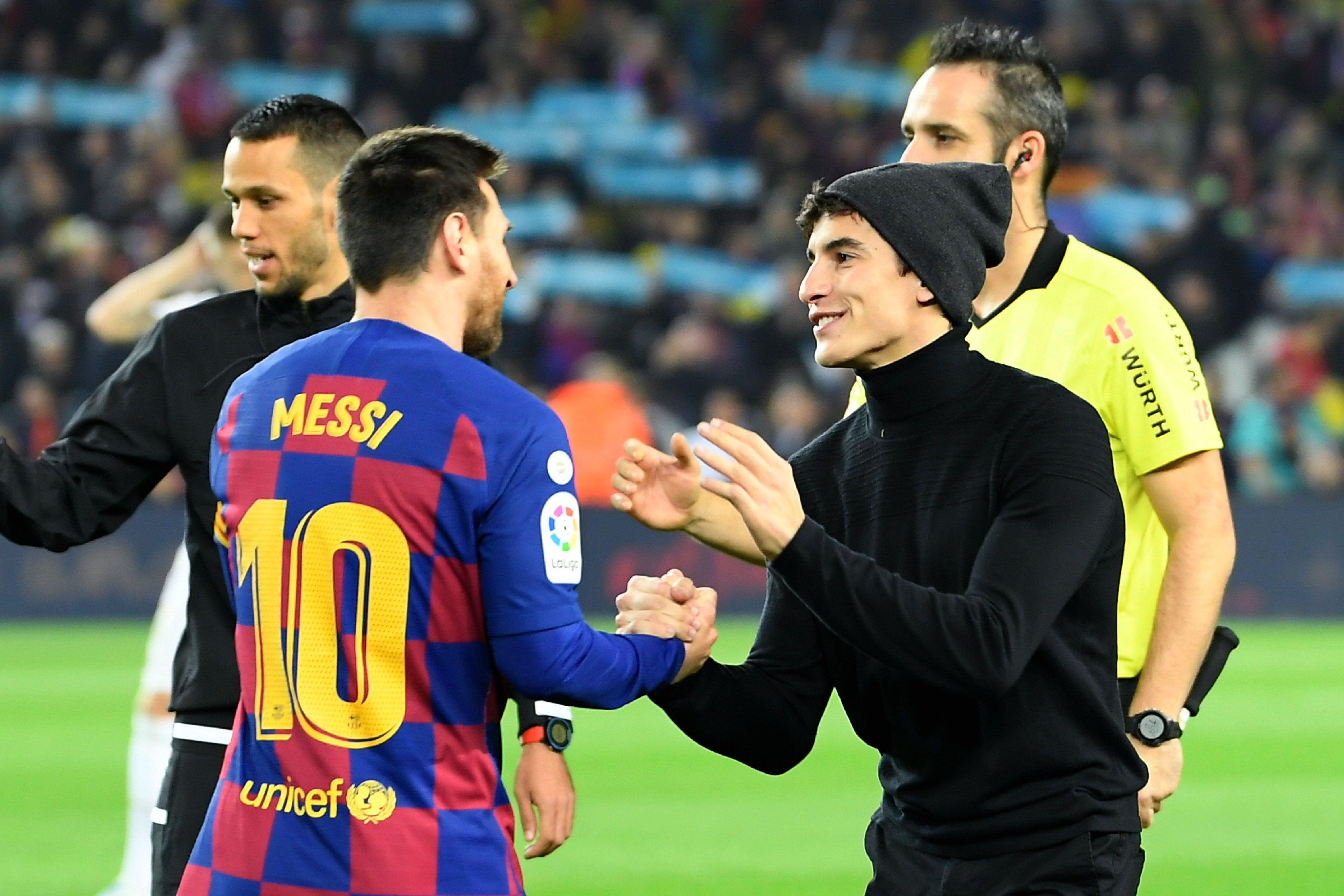 Marc Marquez & Lionel Messi Marc marquez, Lionel messi