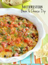 Southwestern Bean & Cheese Dip
