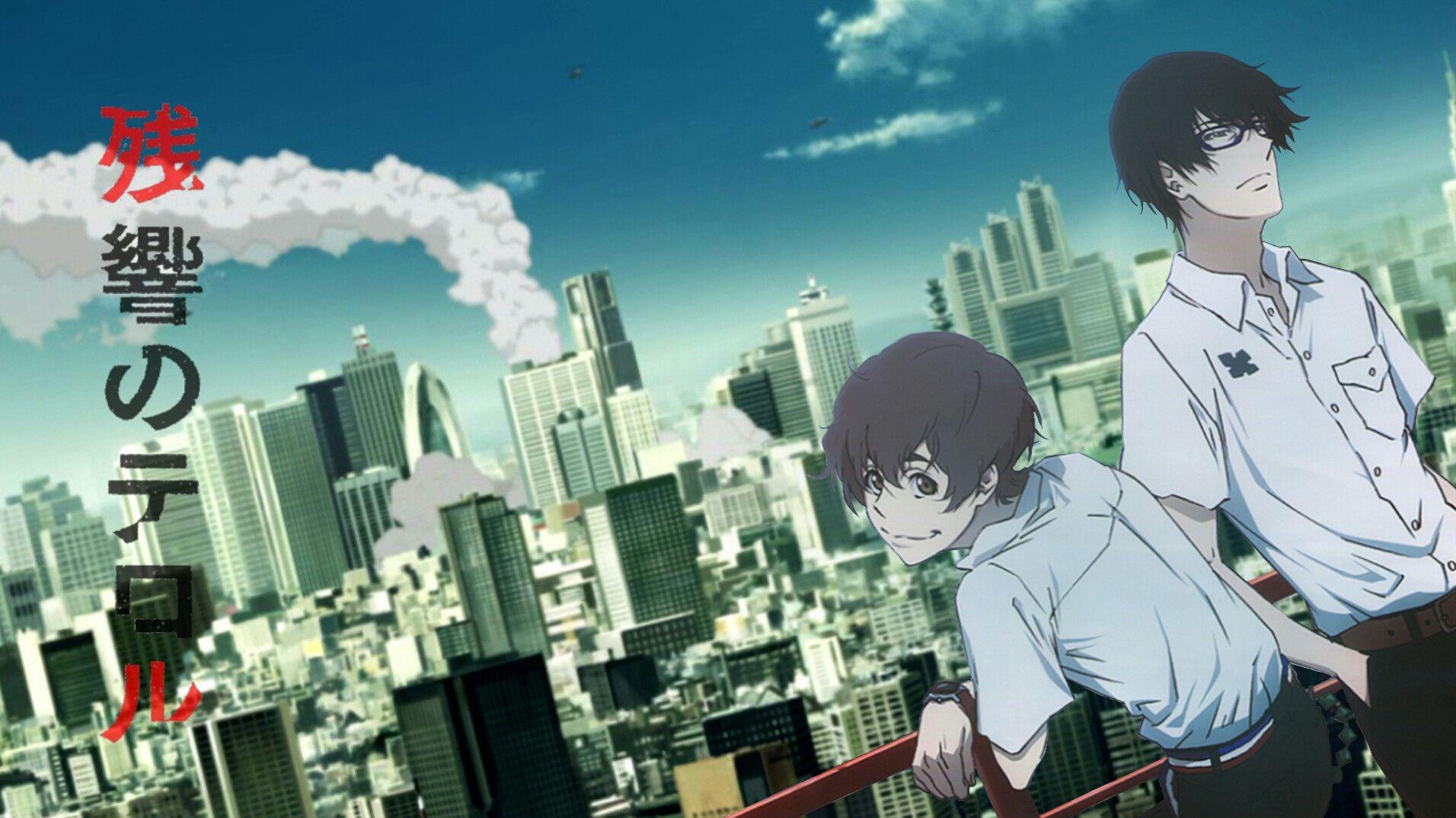Anime Girl Wallpaper With Names Zankyou No Terror Anime Wallpapers Hd 4k Download For