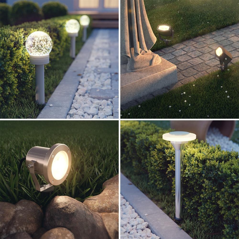 Garten Erdspiess Aus Schwarzem Kunststoff Fur Leuchten Von Parlat Lampen Und Leuchten Leuchten Garten