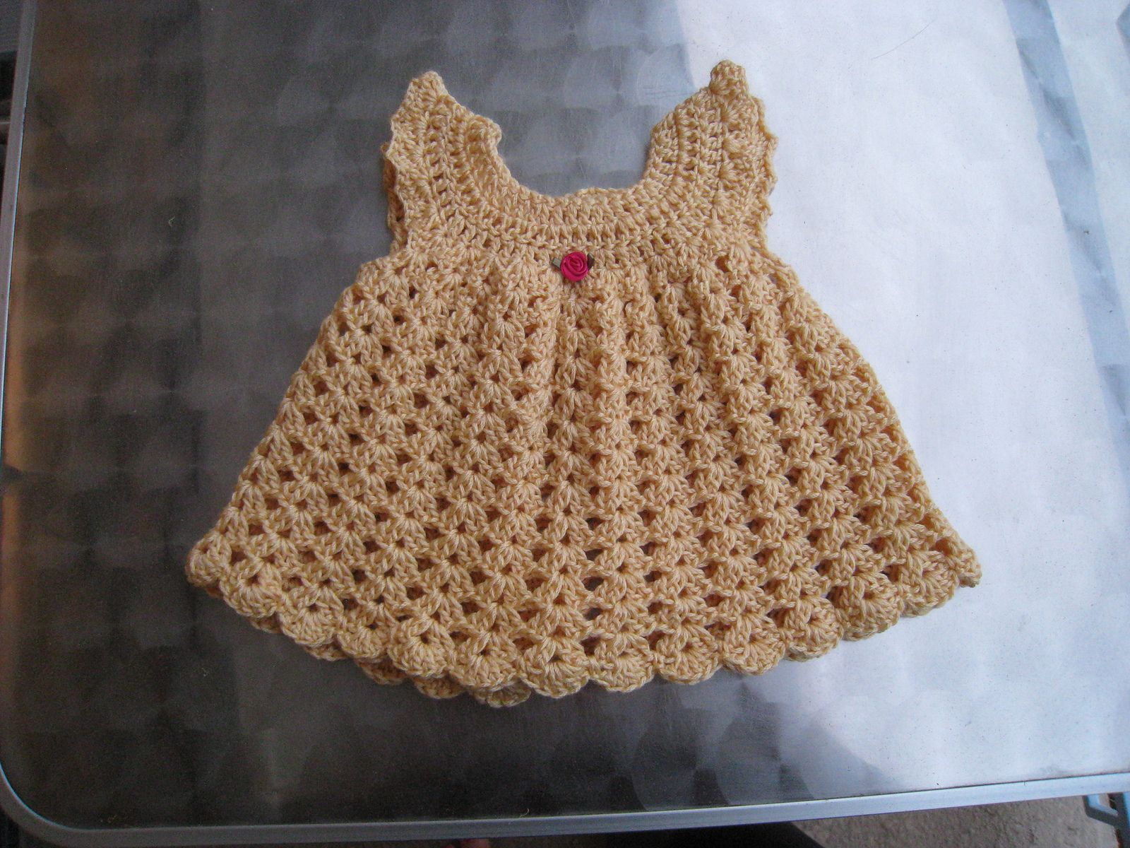 Crochet Baby Dresses Free Patterns Pinterest