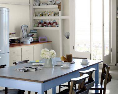 Peinture spéciale cuisine pour meuble boiserie cuisine rustique ...