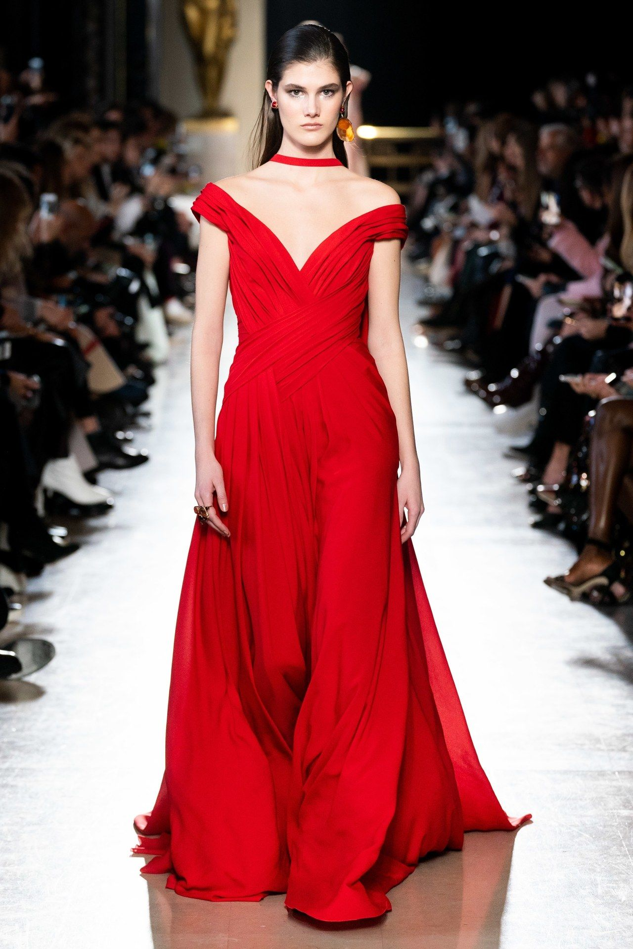 Elie Saab Frühjahr/Sommer 2019 Haute Couture - Kollektion ...