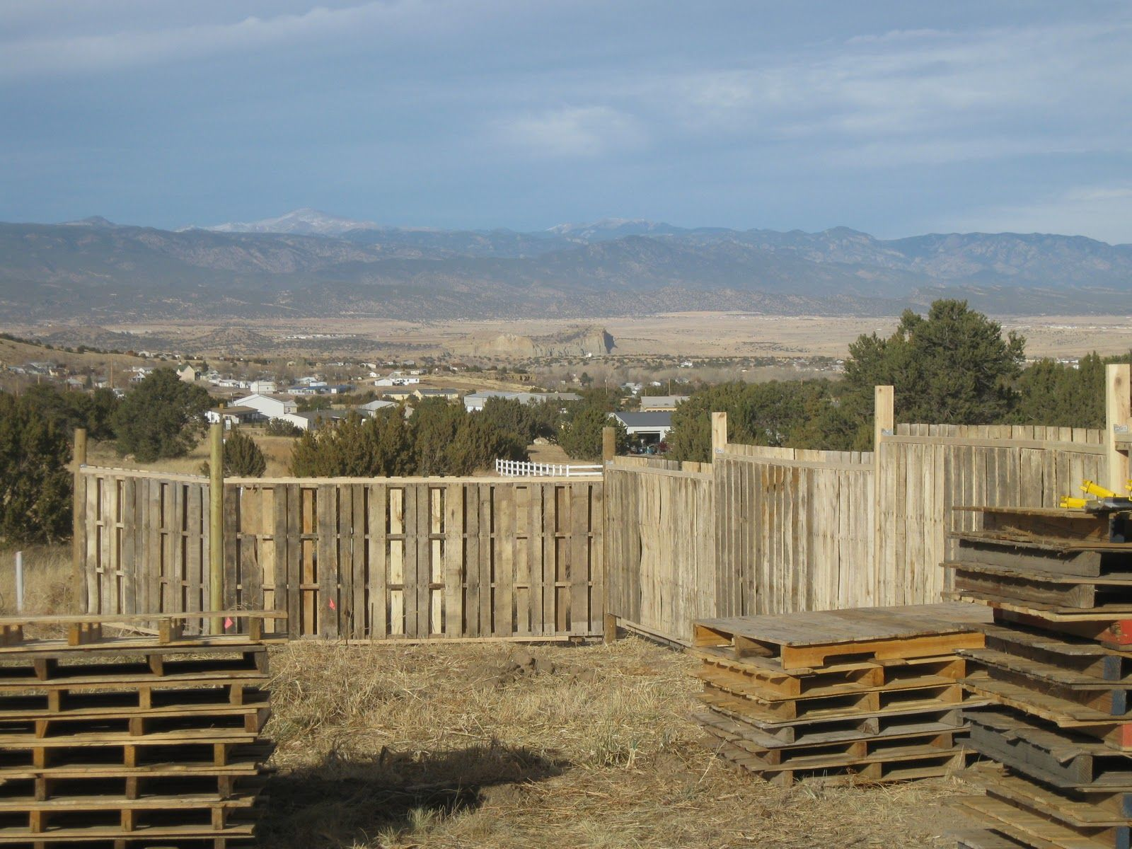 One little farmriving to make a difference pretty pallet fence