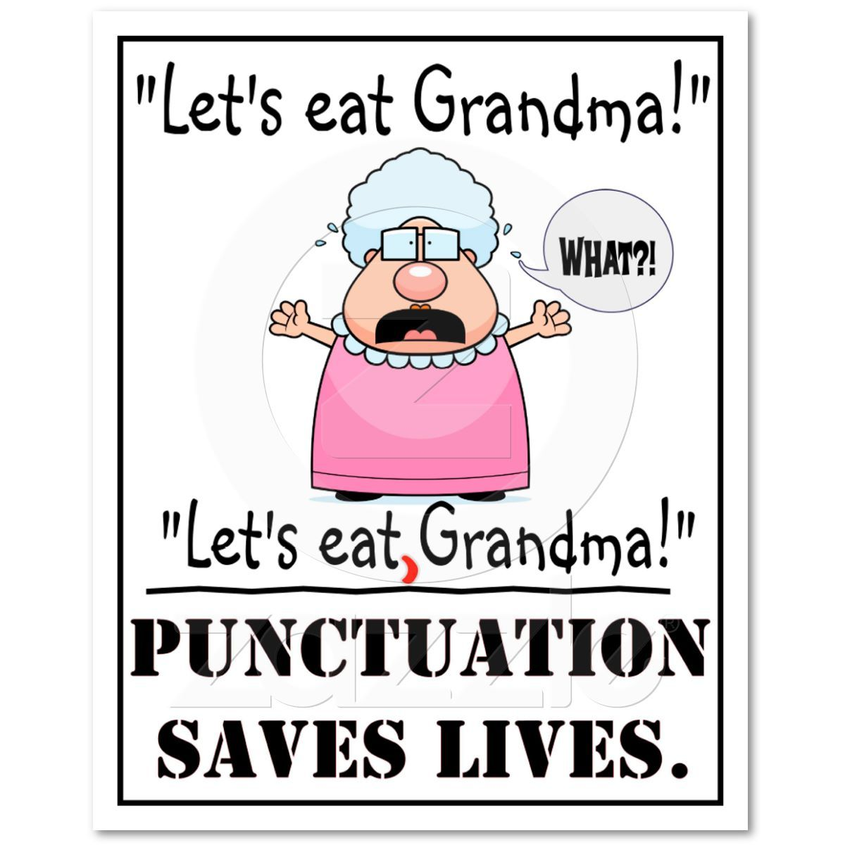 punctuation saves lives examples