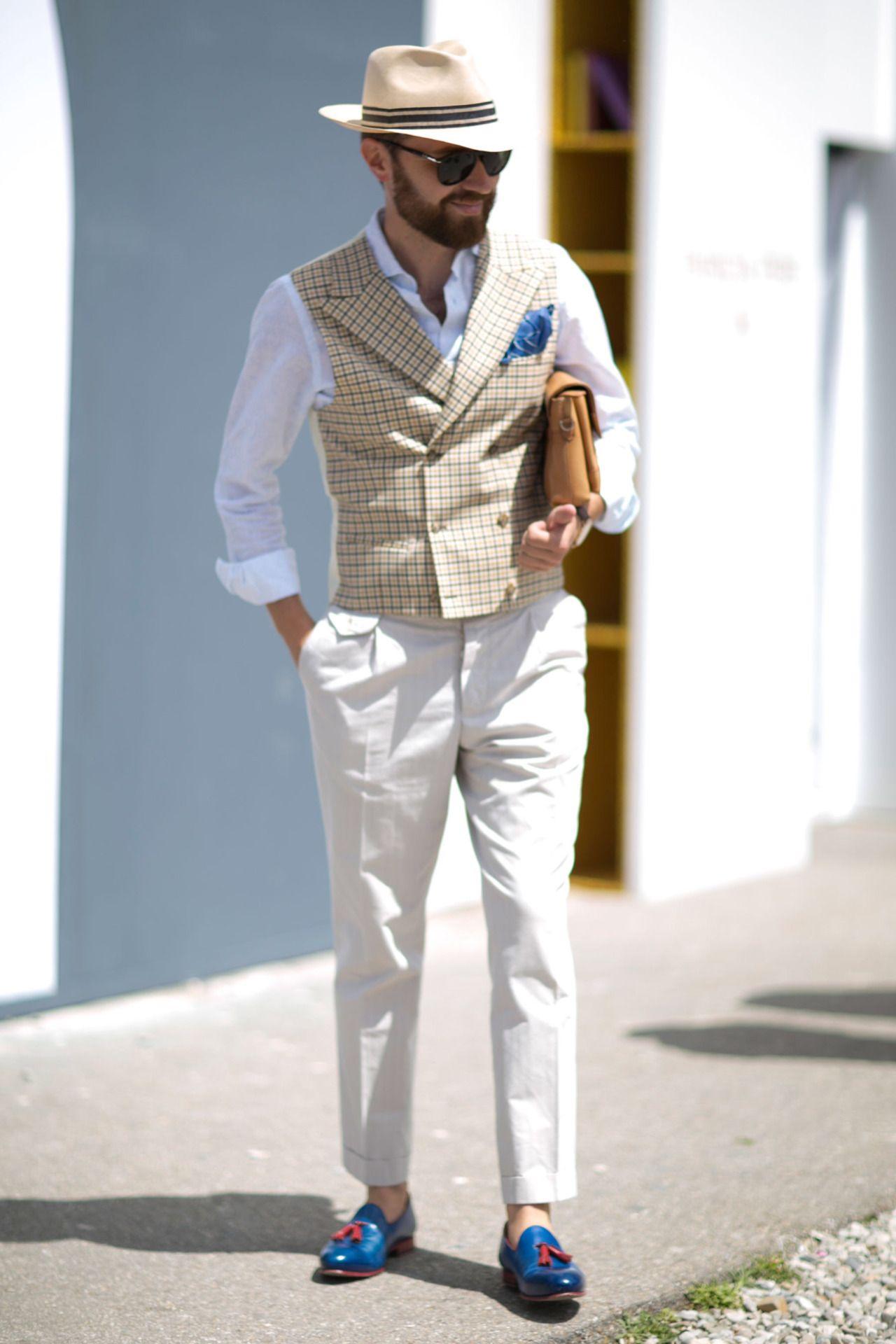 "pitti-moda: ""Firenze Pitti Uomo Men's Street Style Spring 2017   Day 2 – The Impression """