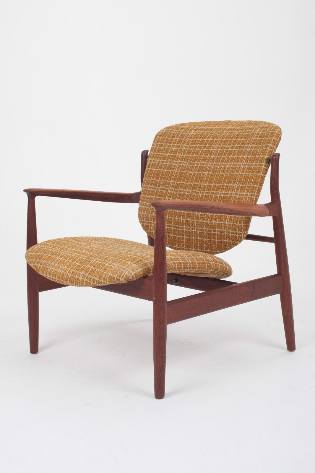 Vintage Teak Lounge Chair By Finn Juhl For France Daverkosen Danish Retro