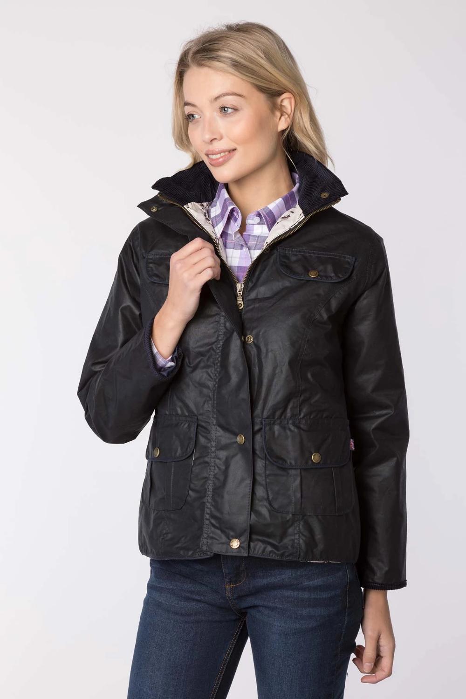 Girls Equestrian Bomber Jacket Rydale Ripon Coat Polo