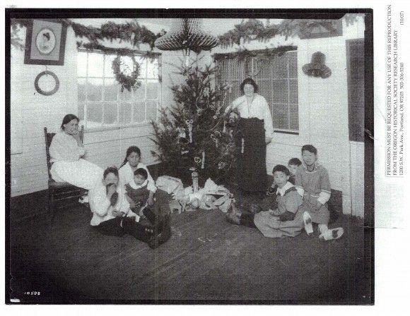 Christmas at Morningside Hospital, Portland , Oregon, circa 1920s ...