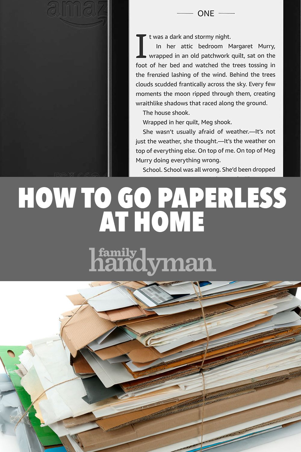 How To Go Paperless At Home