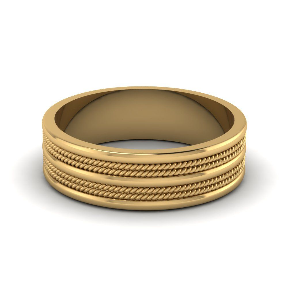 7mm mens twisted wedding ring | pinterest | ring designs, ring and gold