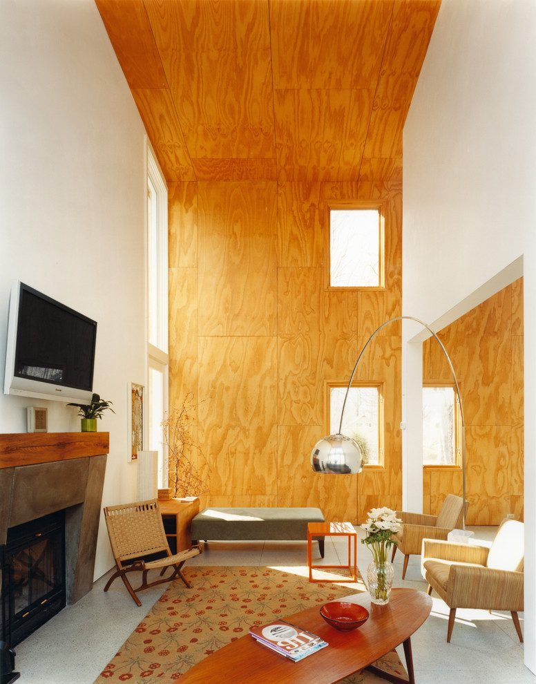 Funky Wall Paneling Ideas For Living Room Image - Wall Art Design ...