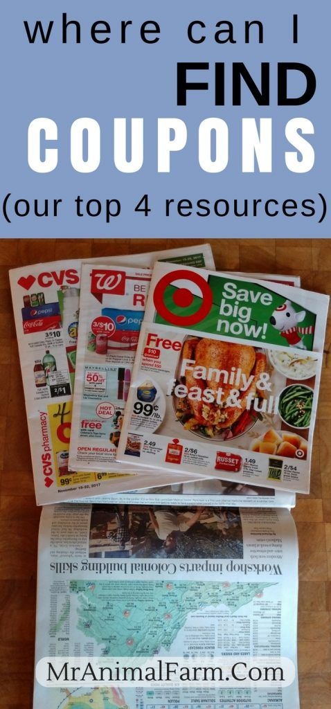 Where to Find Coupons 4 Main Coupon Sources How to