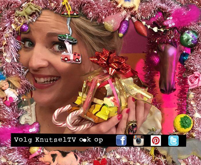 Knutselzus Anouk maakt voor kerst een gezellige snackslee voor onder de boom! Knutsel je mee?
