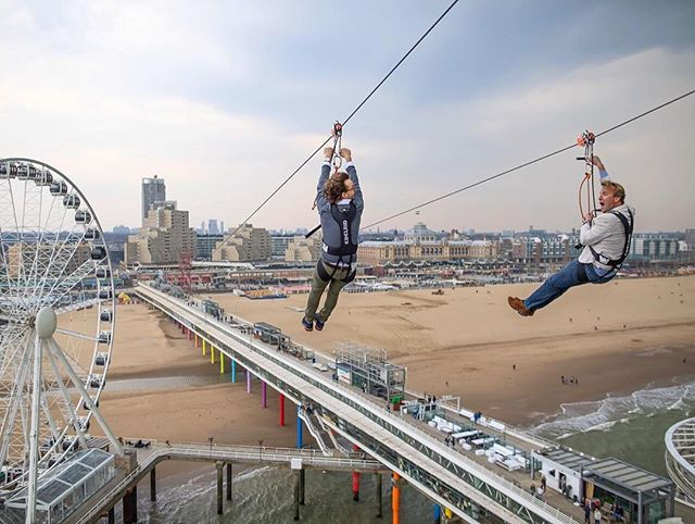 Add a thrilling break-out experience to your meetings: let your delegates zipline along the Dutch coast in The Hague! New perspectives guaranteed! via @thisisthehague #eventprofs #meetingprofs #HollandMoves #thehague #evedeso #eventdesignsource - posted by Meet in Holland https://www.instagram.com/meetinholland. See more Event Designs at http://Evedeso.com
