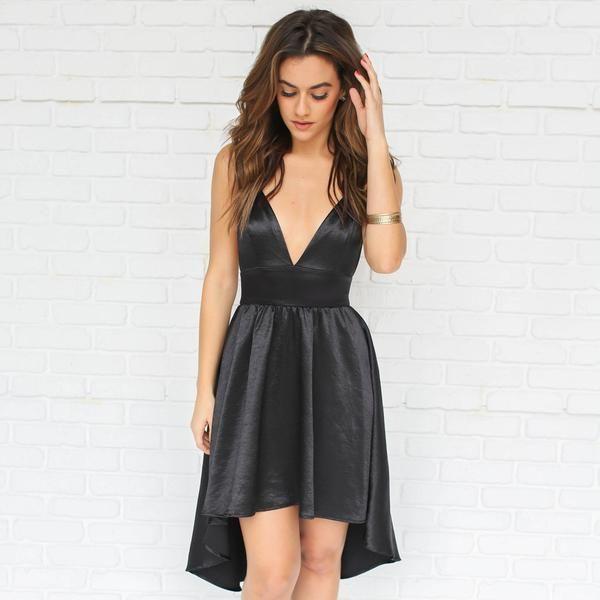 Buttercup Silk Little Black Dress Daintyhooligan Whats
