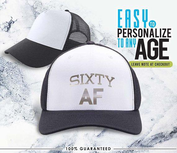 60 AF 1958 60th Birthday Gifts Gift Hat B