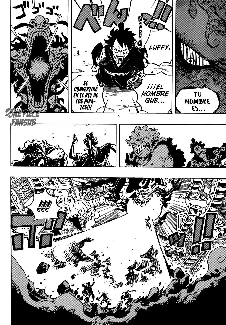 Berikut ini spoiler manga one piece chapter 1025 yang akan menceritakan pertarungan antara luffy, yamato, dan momonosuke melawan kaido. Pin On One Piece