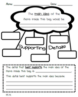 Little Literacy Learners Main Idea And Details Reading Classroom Teaching Writing Teaching Reading