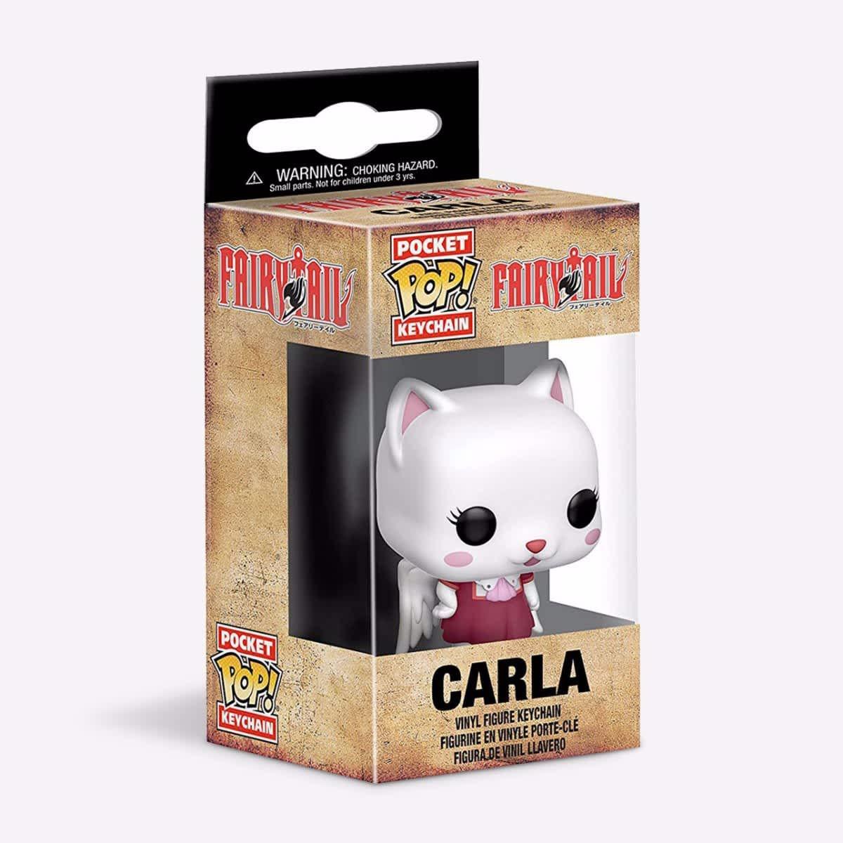 Fairy Tail Funko Pocket Pop Keychain Carla