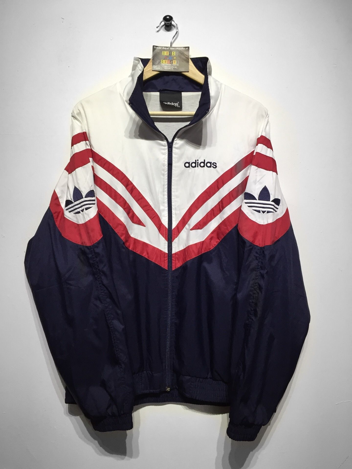 Shell but Website Large Oversized Fits Jacket Adidas Size £34 OdanB4qq