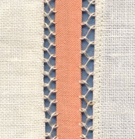 Image result for fagoted seam