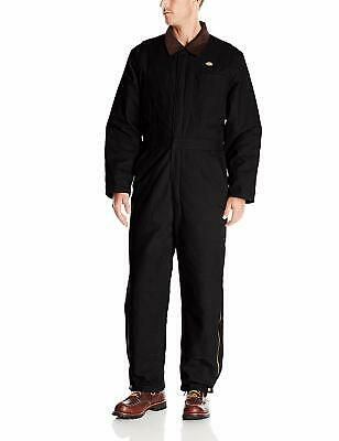 Ad(eBay Url) Dickies Mens Coveralls Black Size Medium M Quilt Lined Front Zip $82- #035