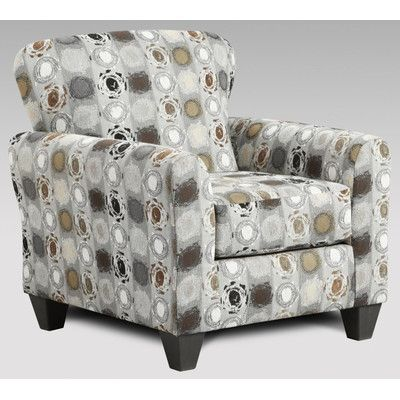 Chelsea Home Talbot Accent Chair Color Paintball Granite