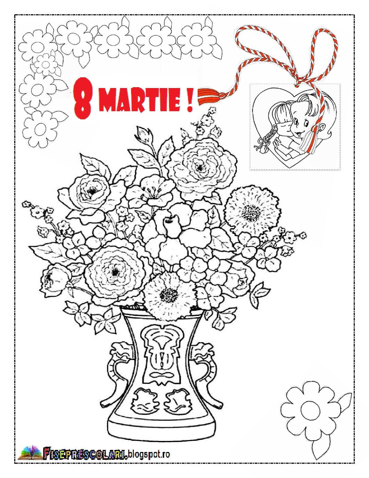 Planse De Colorat Pentru Mamici Planse De Colorat Pentru 8