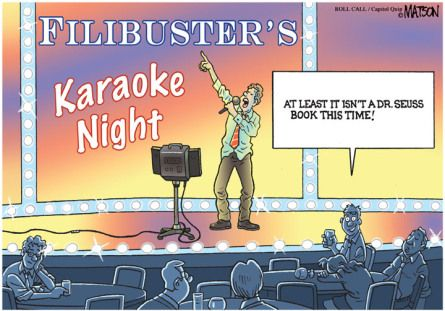 what does filibuster mean in politics