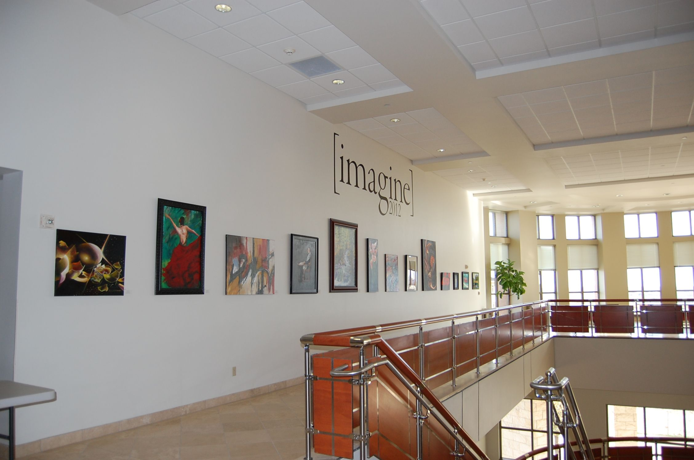 Imagine 2012 in the avery building at the round rock