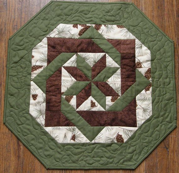 Image Result For Patchwork Round Table Runner Quilted