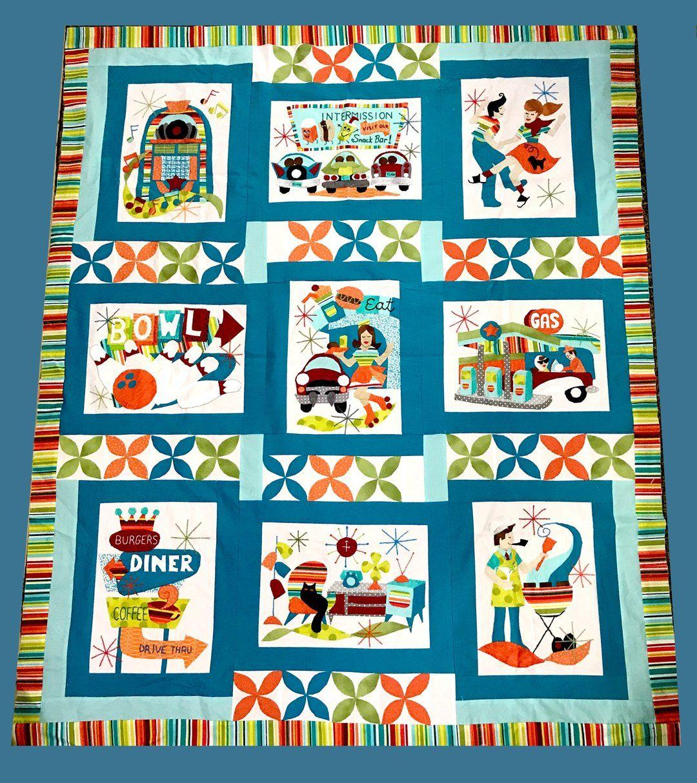 Retro Flash Digital Quilt Pattern Digital Quilt Pattern Quilts Quilt Patterns